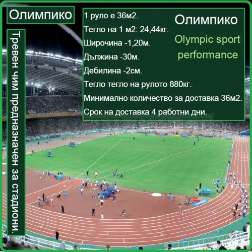 Олимпико - Olympic sport performance - на рула
